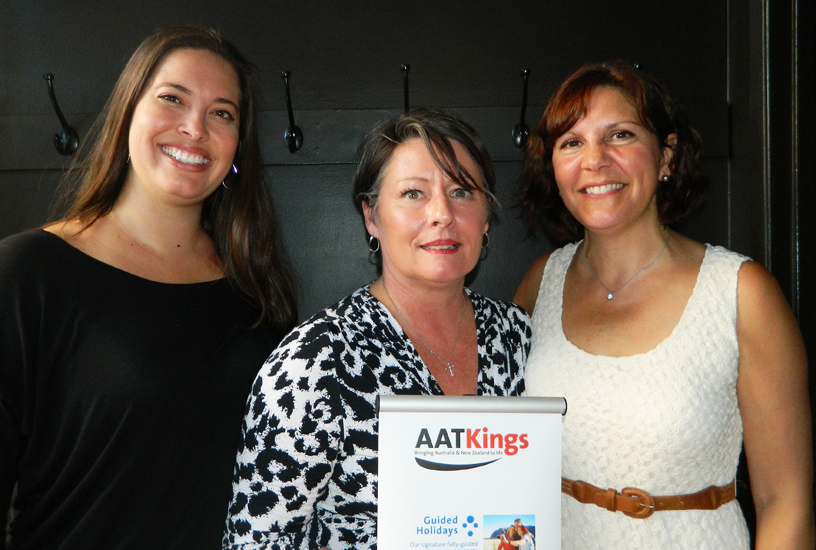 Anderson & AAT Kings Partner To Promote New Touring Options Downunder