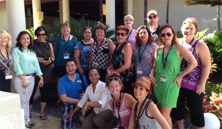 AMResorts hosts Canadian master agent Fam in Punta Cana