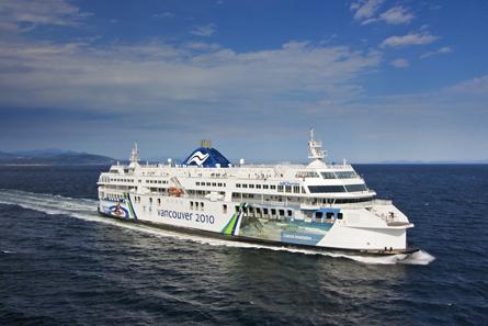 B.C. Ferries Triples Net Earnings In First Quarter 2014