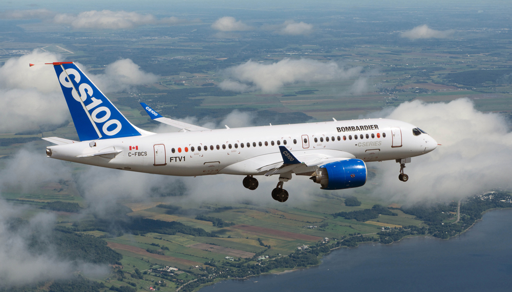 Delta places $5.6B order for Bombardier CSeries jets