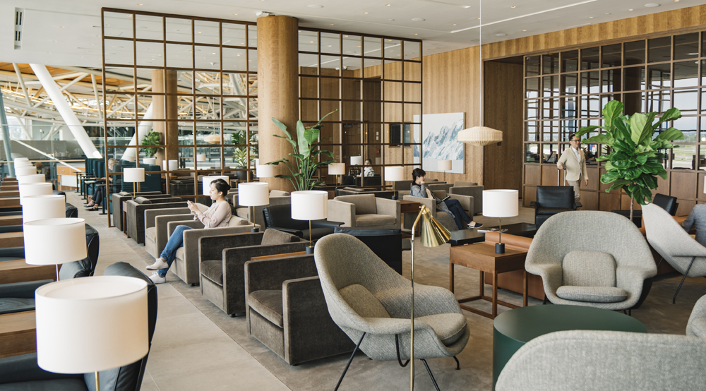 Cathay Pacific opens new lounge at YVR