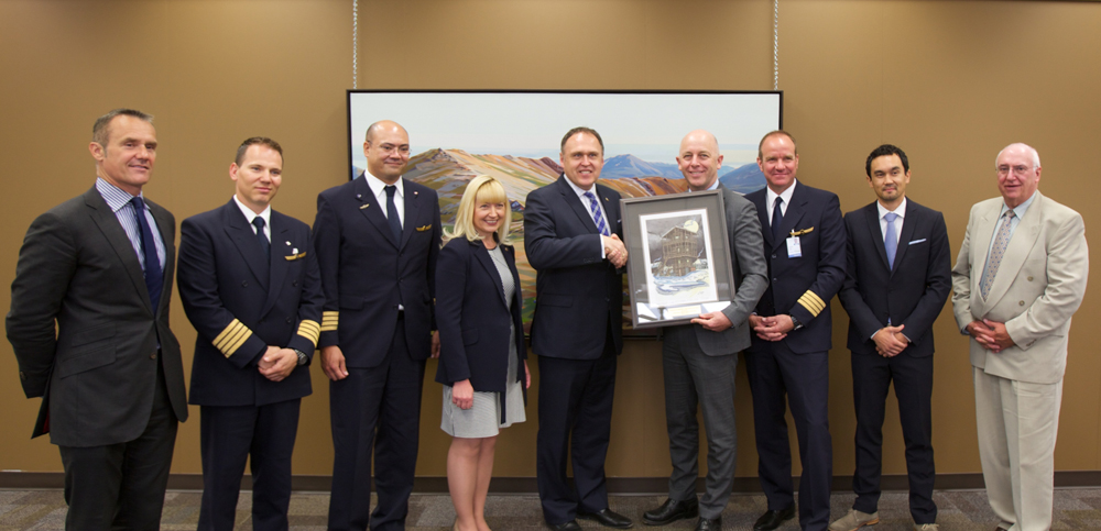 Condor recognized for service to Yukon