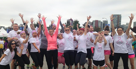 Flight Centre Team YVR Runs For The Cure