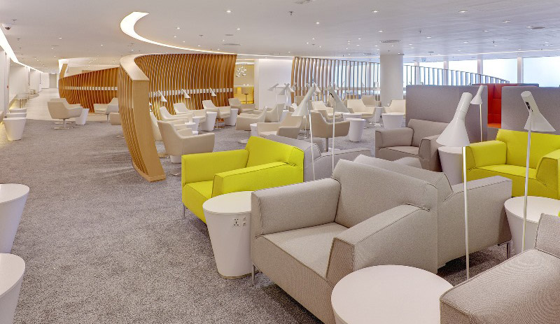 SkyTeam Exclusive Lounge opens at HKIA