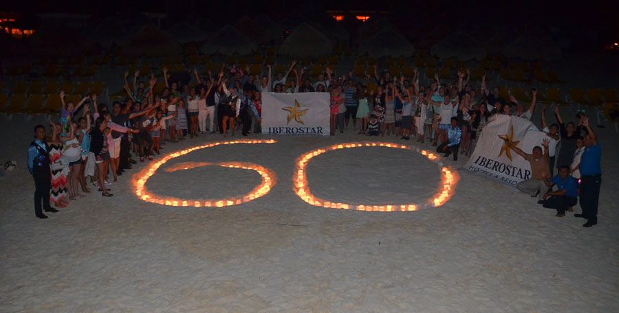 IBEROSTAR turns off lights for Earth Hour