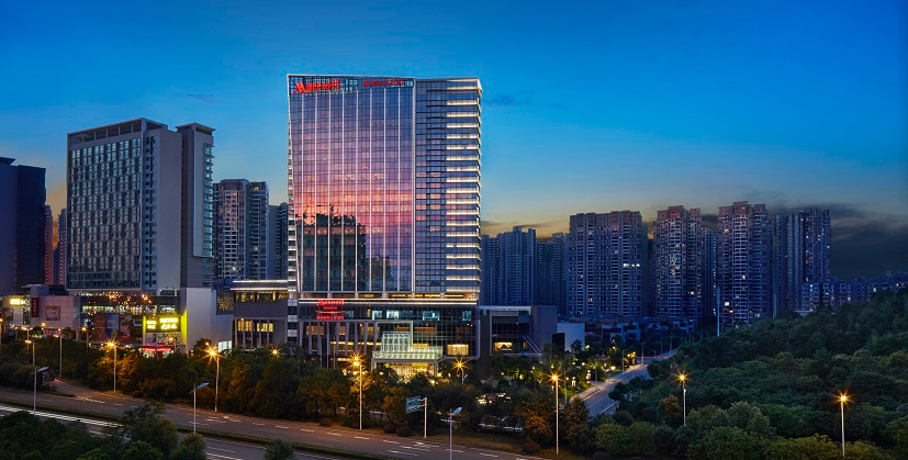 Marriott debuts latest hotel in China