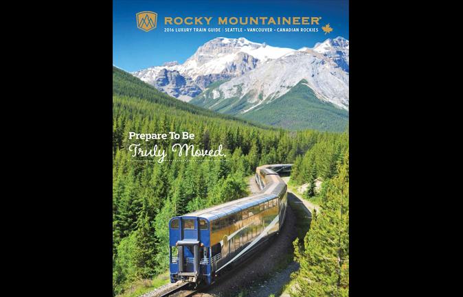 Rocky Mountaineer releases 2016 brochure