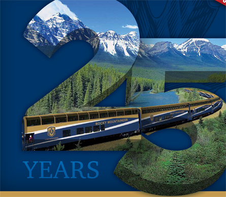 Rocky Mountaineer Extends 25th Anniversary Promotion