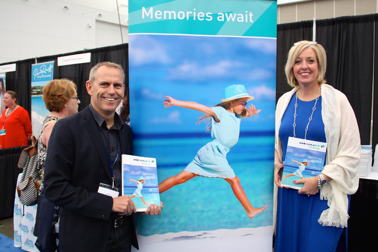 Westjet Travel Trade Expo