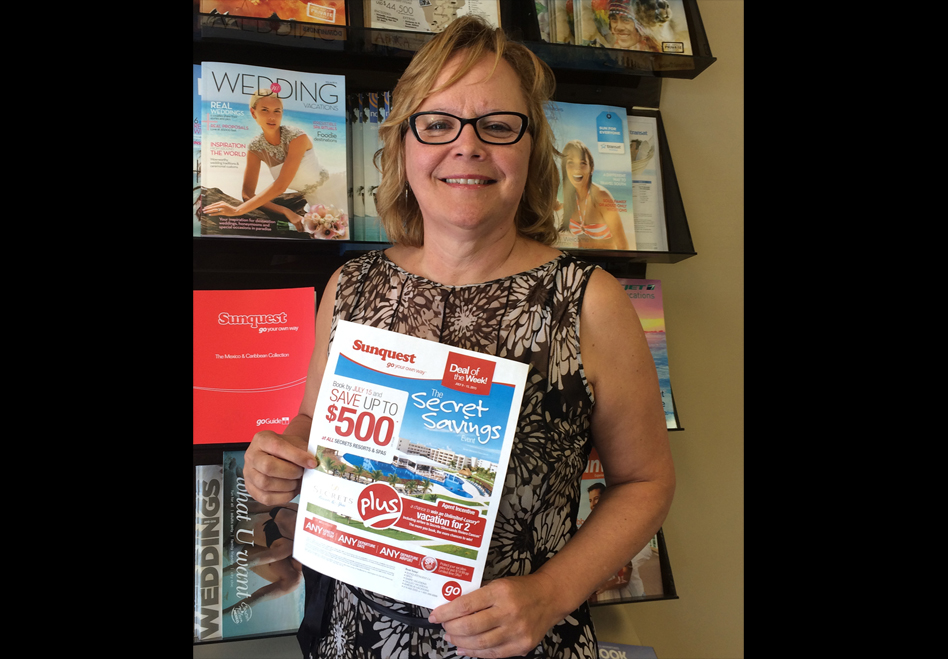 Sunquest awards Secret Savings winner