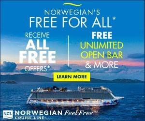 Norwegian Cruise Line - Big box (Newsletter) - Aug 12