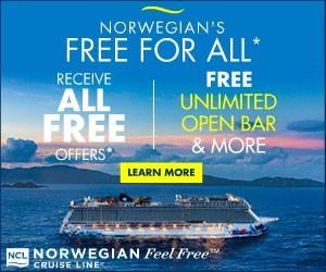 Norwegian Cruise Line - Big box (Newsletter) - Aug 12
