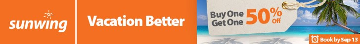 Sunwing - Top banner (NEWSLETTER) - Sept 6