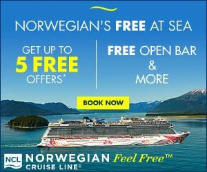 Norwegian Cruise Line - Big box (Newsletter) - Nov 5, 2019