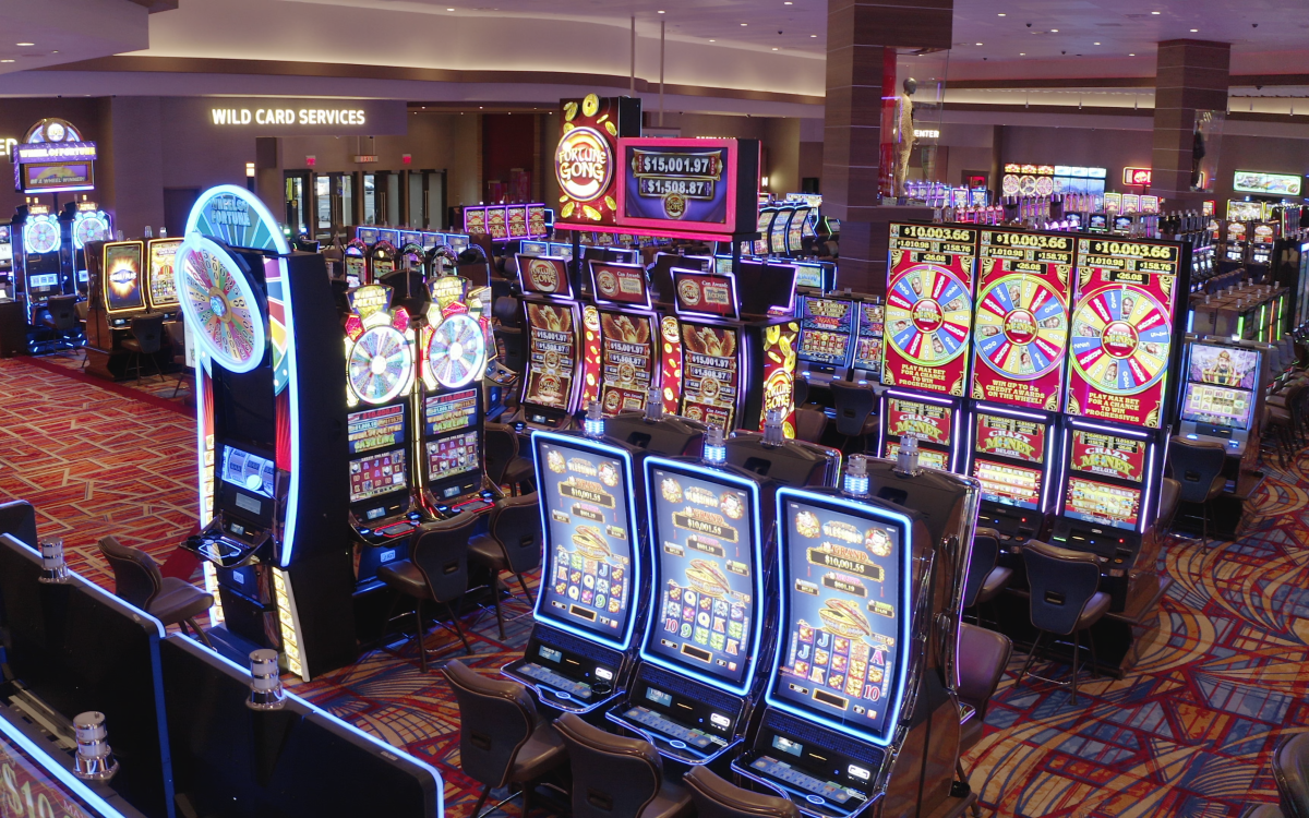 The casino boasts 1,587 slot machines and 57 table games, with exclusive high-limit gaming rooms, unique product offerings, and innovative technologies that are new to the market.