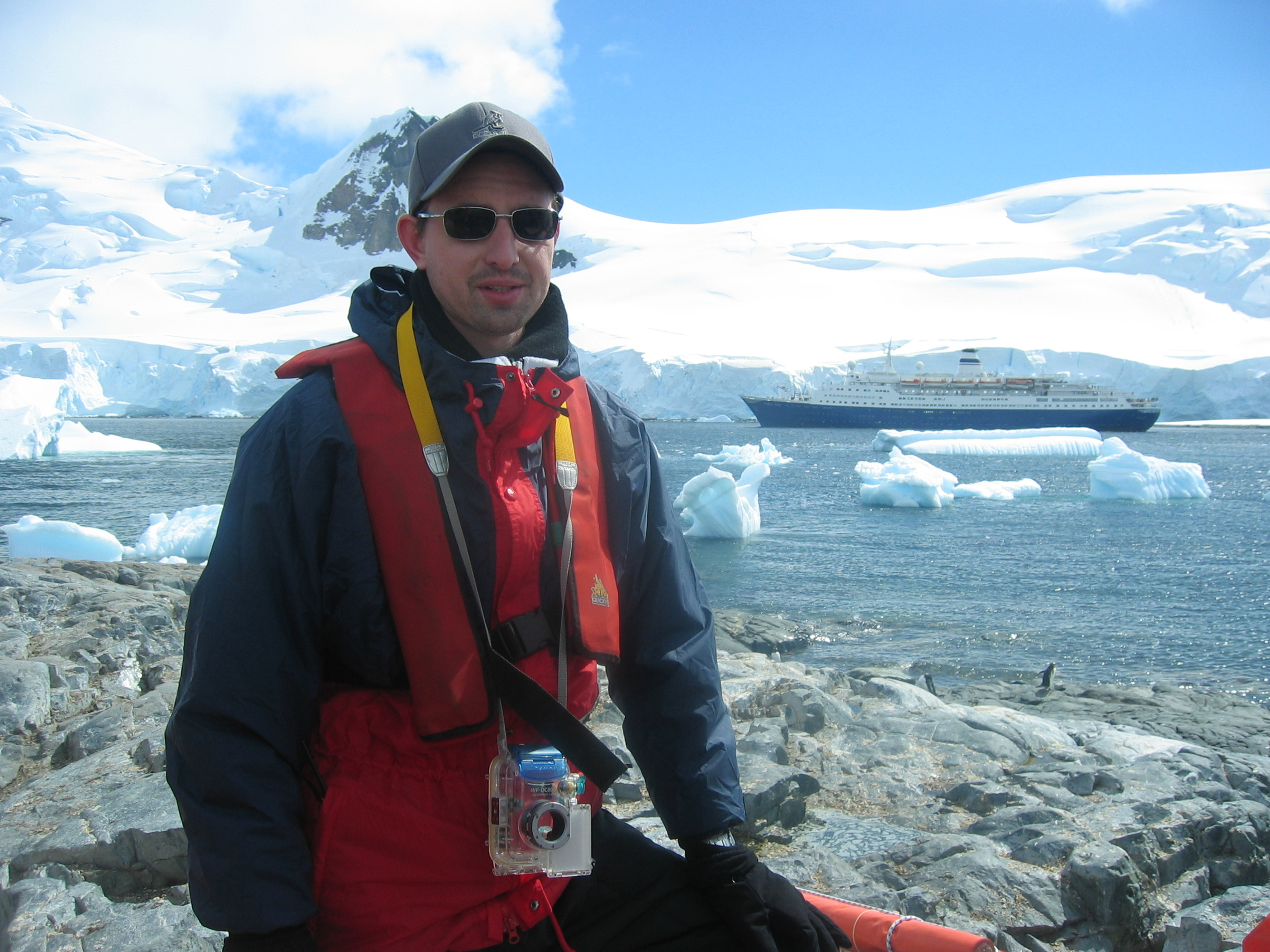 Antarctica, Paradise Harbor, where Colin worked for five weeks. Photo: Colin Price