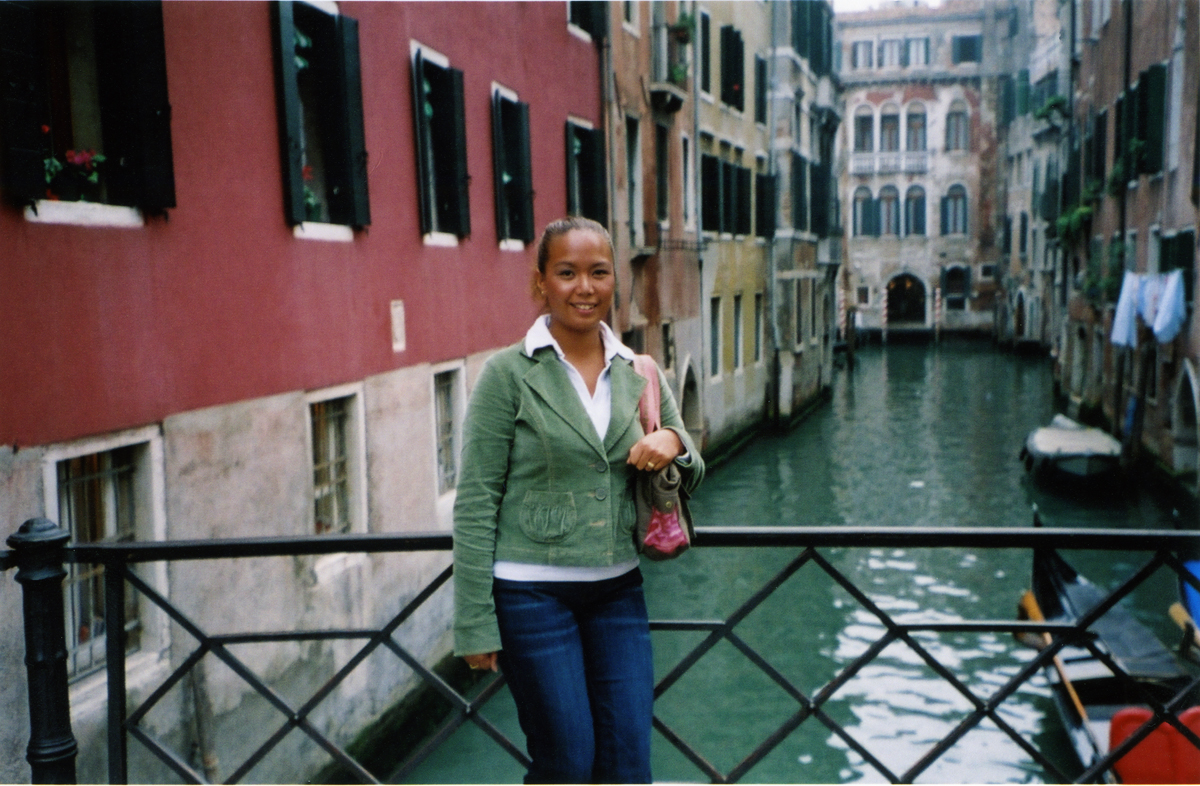 Exploring the streets of Venice (photo courtesy of Marigold Frontuna)