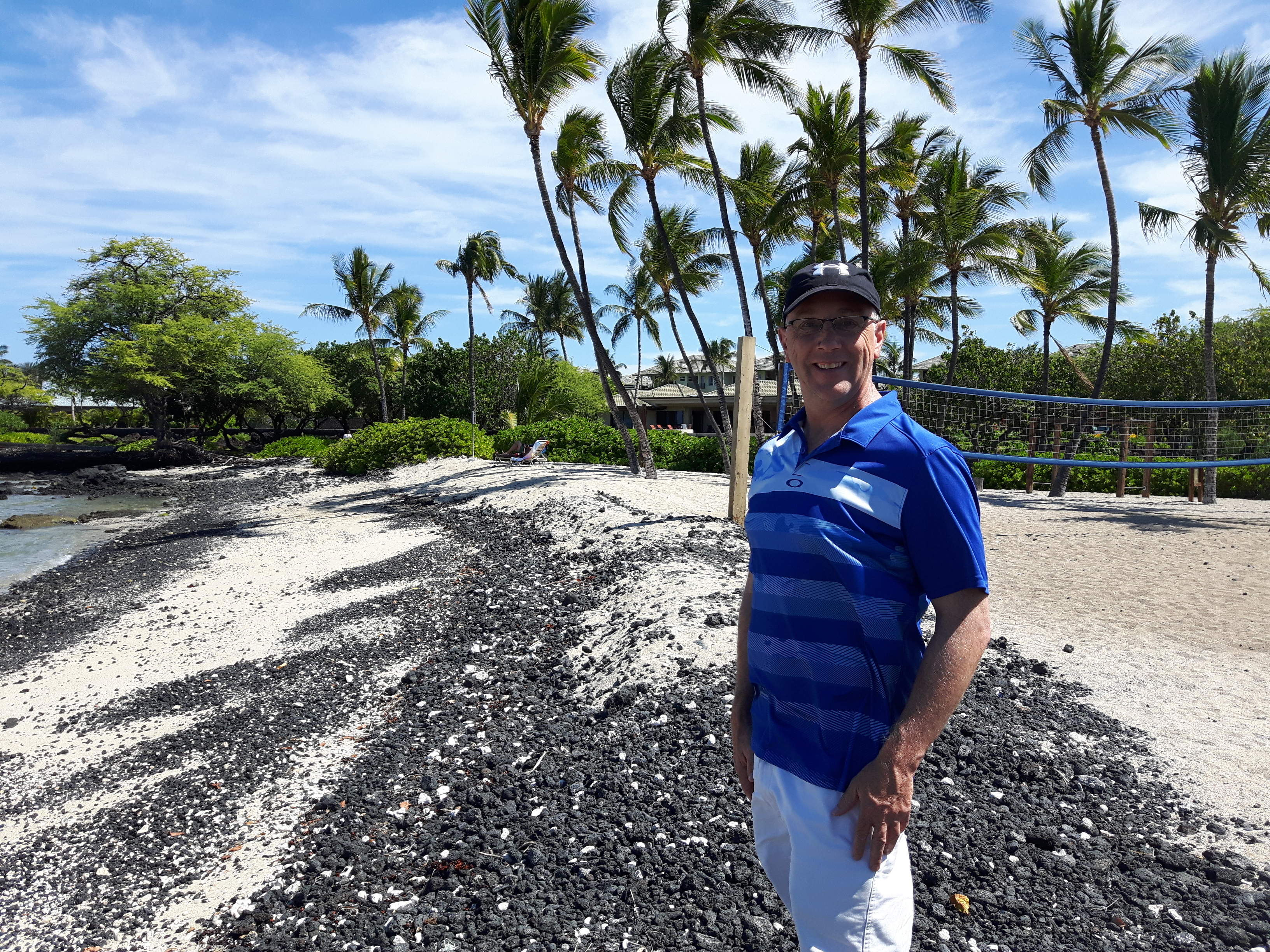At Waikoloa, Hawaii in summer 2017 (photo courtesy of Dean Neville)