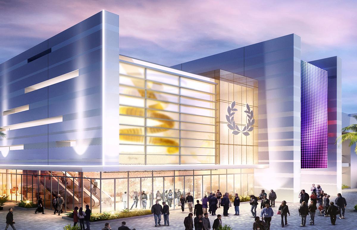 Caesars Forum will boast a 550,000 square-foot conference centre