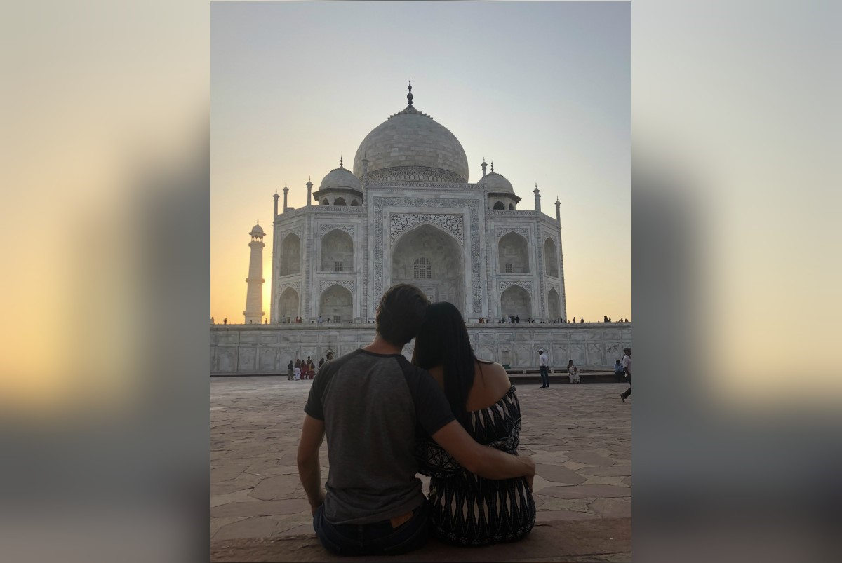 Honeymoon in India (photo courtesy of Ana Vazquez)