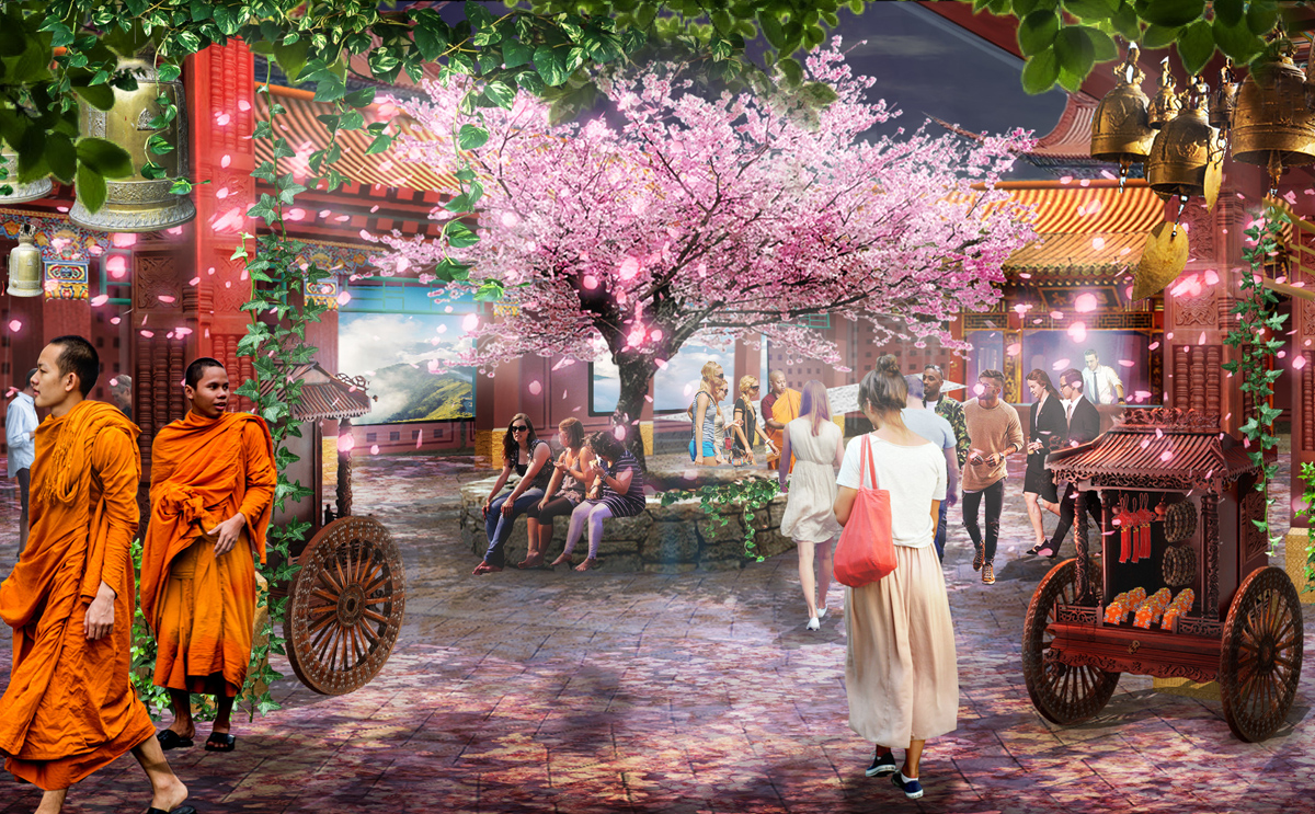 Kind Heaven will bring the best of Southeast Asia to the LINQ Promenade in Spring 2020.
