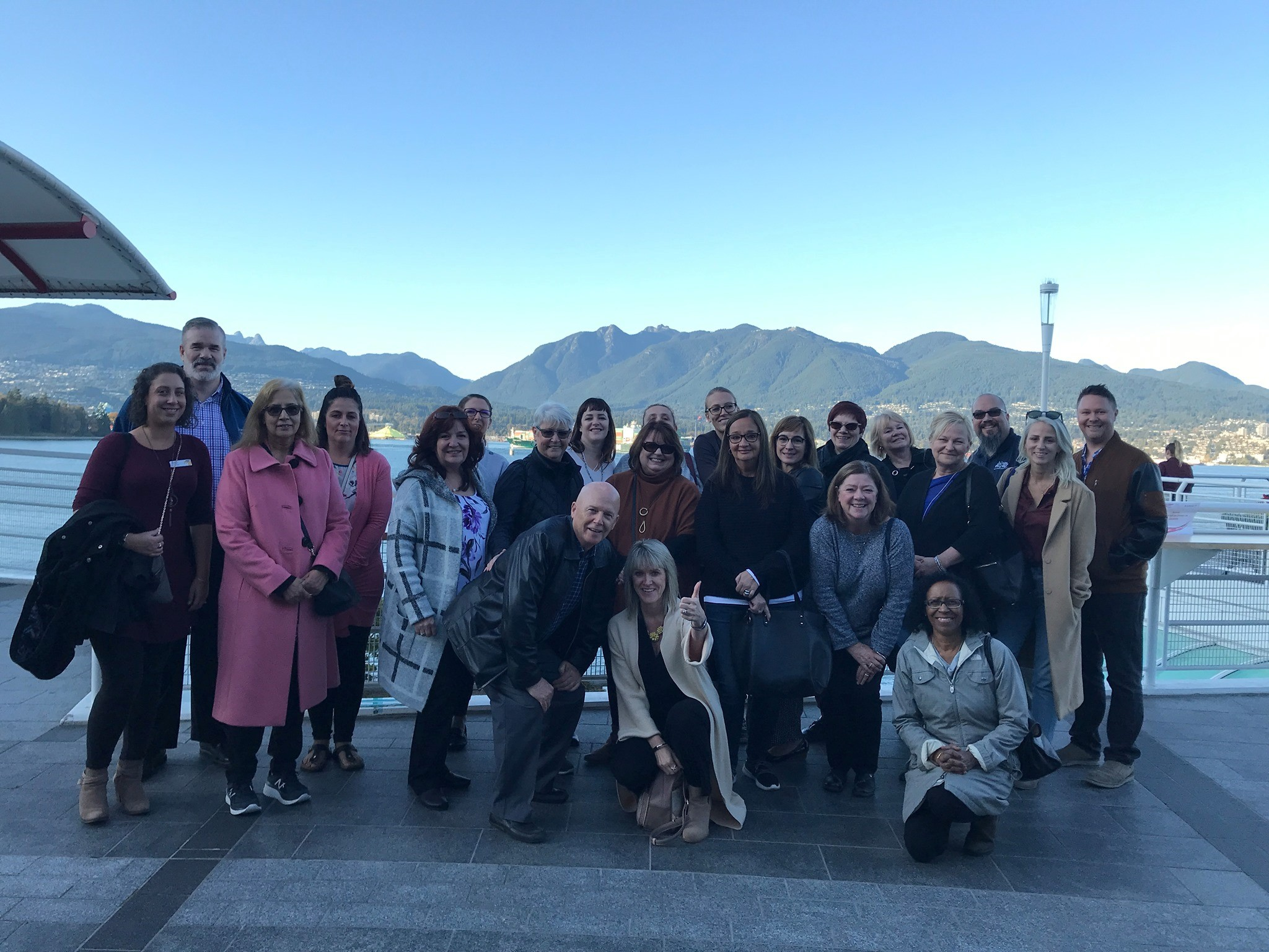 As part of the conference, Travel Masters' agents agents also had an exclusive mini Globus tour of Vancouver.