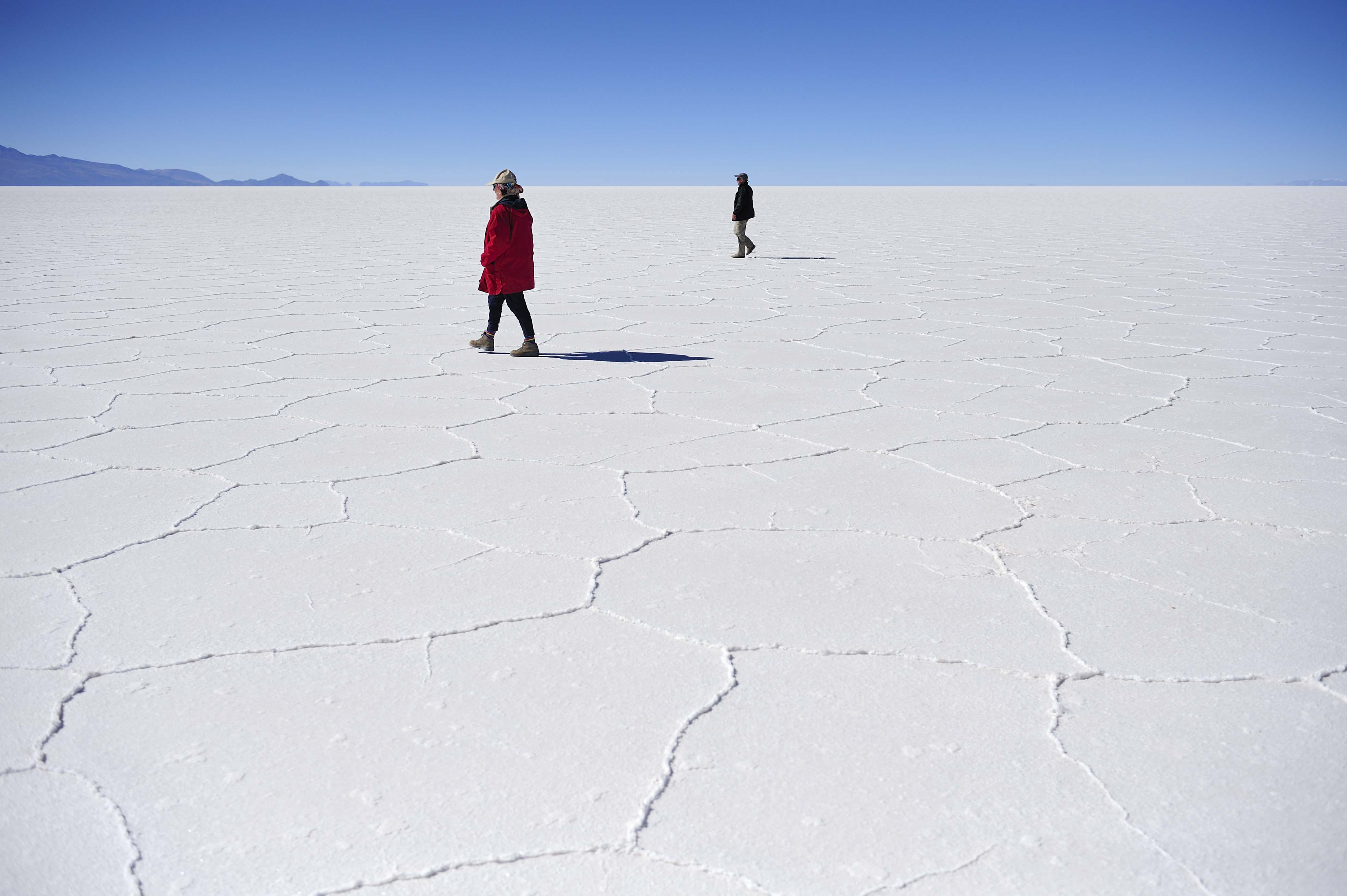 Bolivia's Uyuni Salt Flats are one of the unique landscapes featured in explora's itineraries (images courtesy of explora)
