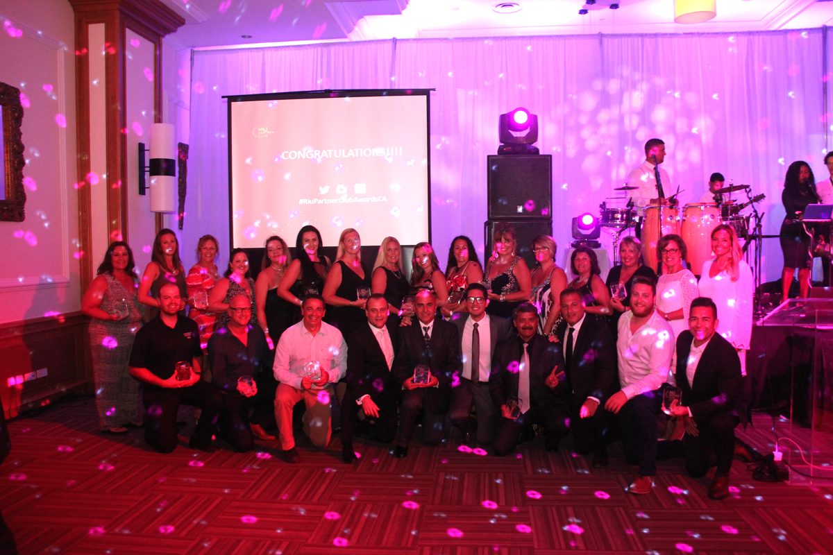 Top RIU agents honoured in Aruba