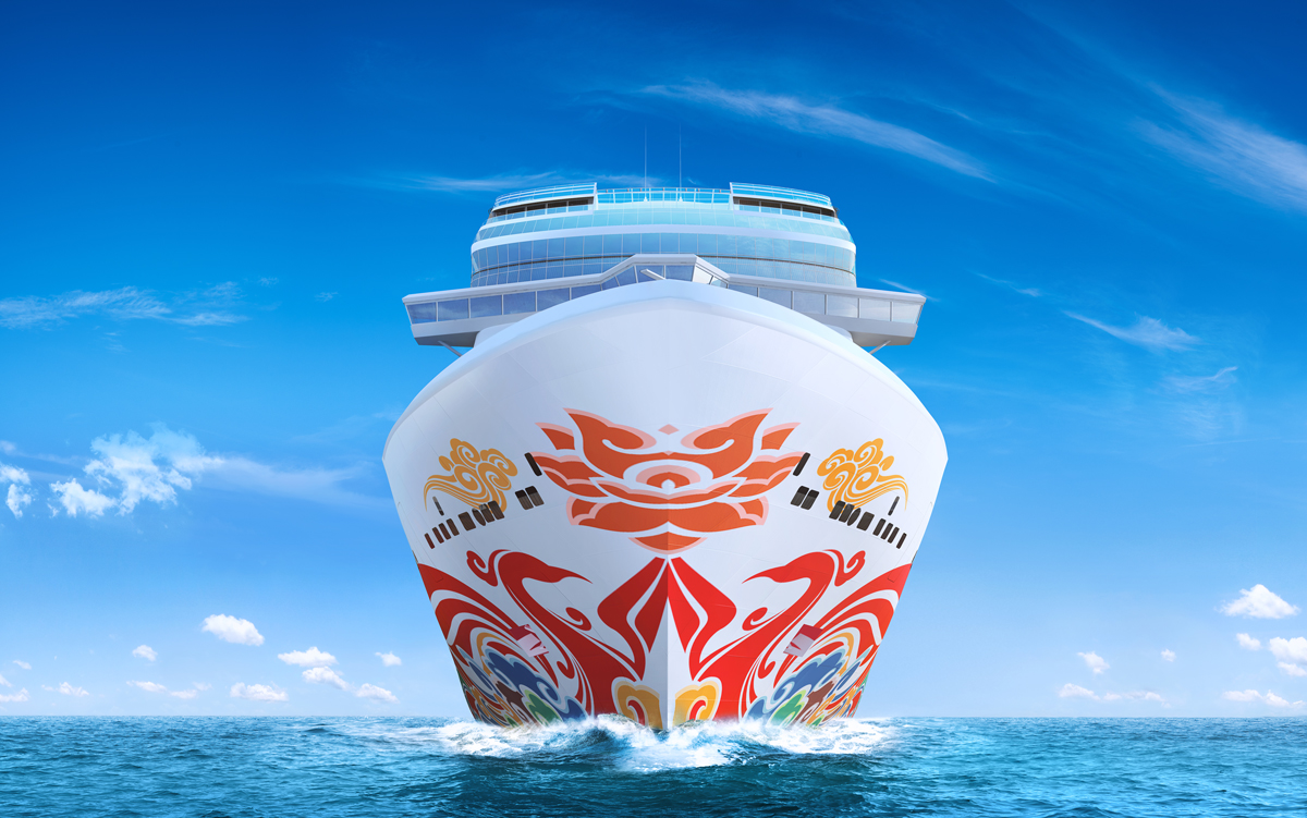 NCL's first ship for China to feature art by famous artist