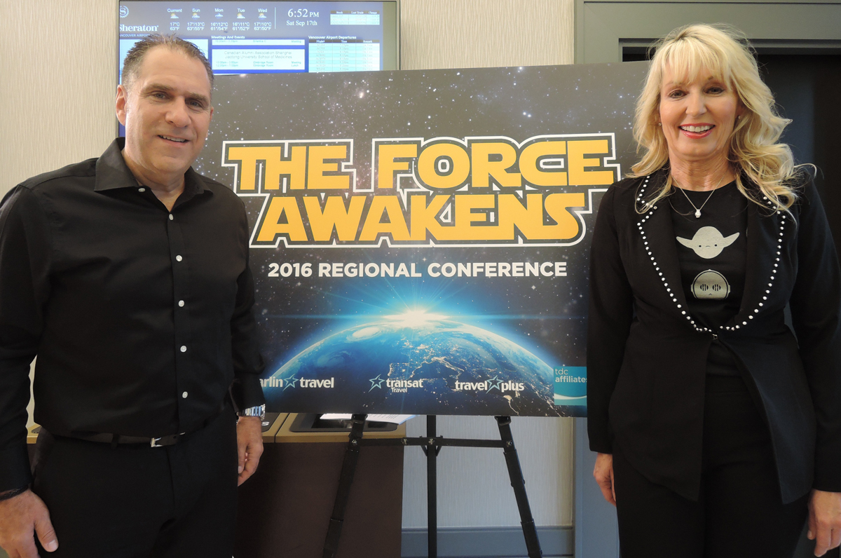 Transat Awakens The Force at its West regional conference