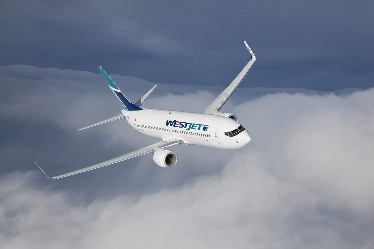 WestJet flies 2.1M passengers in August