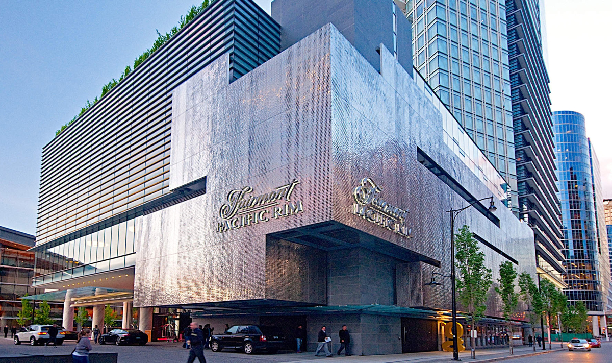 Fairmont Pacific Rim makes Canadian hotel history