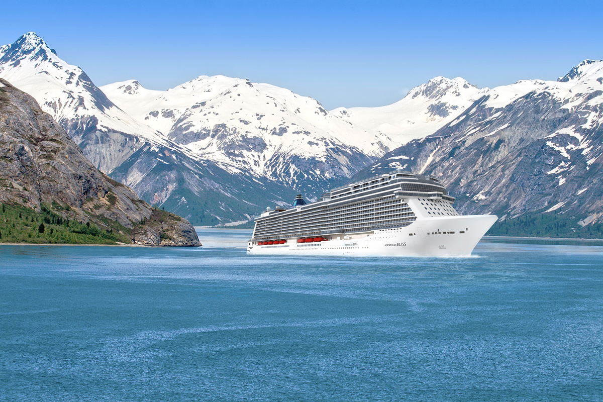 NCL Bliss coming to Alaska in 2018