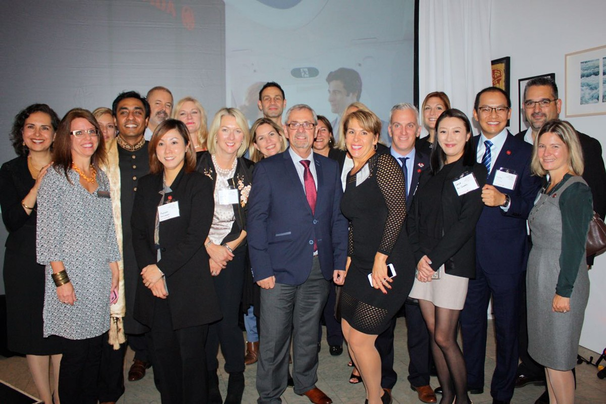Air Canada celebrates Delhi route launch in Vancouver