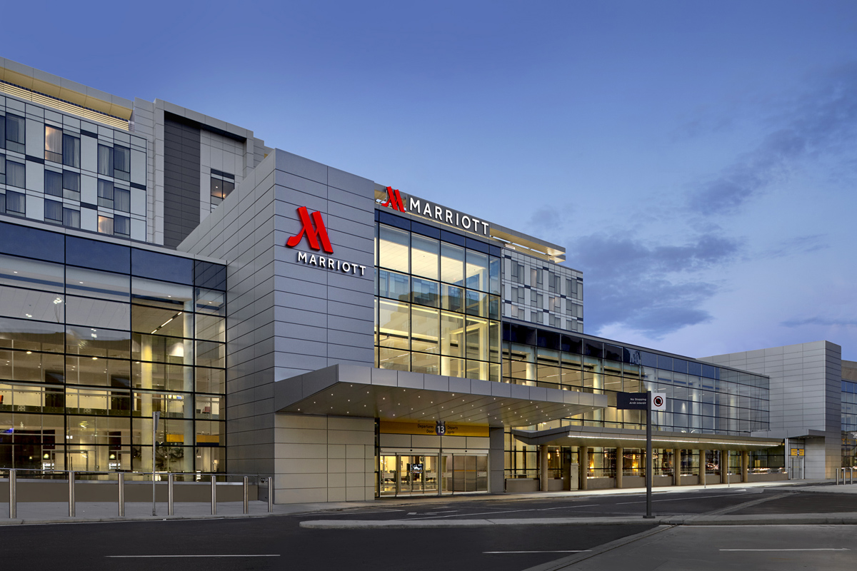 Marriott Hotel debuts in new YYC airport terminal