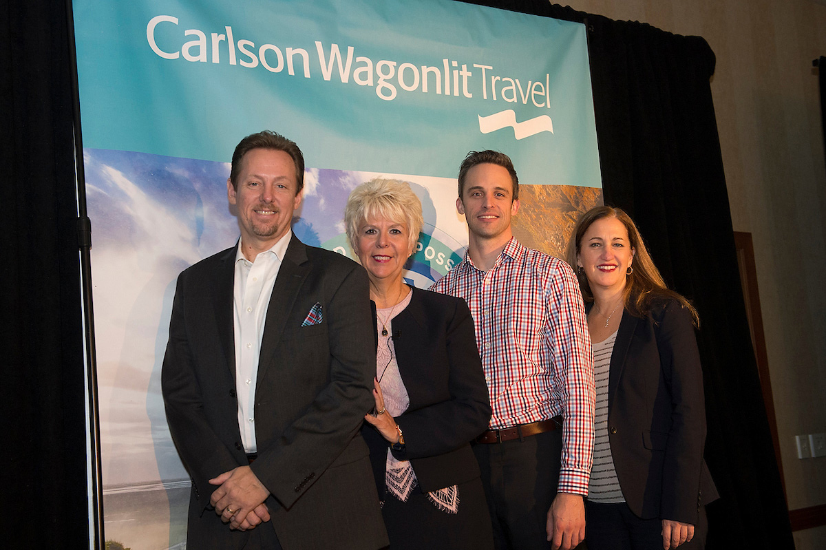 Carlson Wagonlit Travel fall training ends on high note in Vancouver