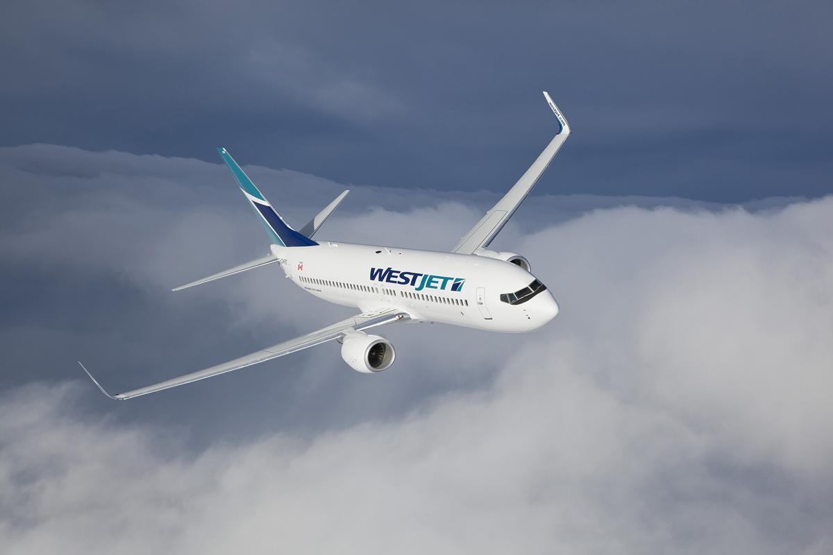 WestJet adds connections between YHM & YWG, YEG