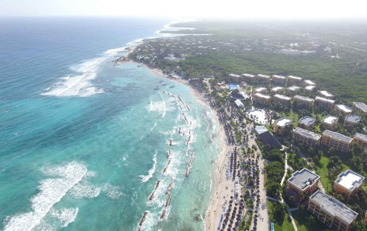 No injuries reported after Mexican resort fire