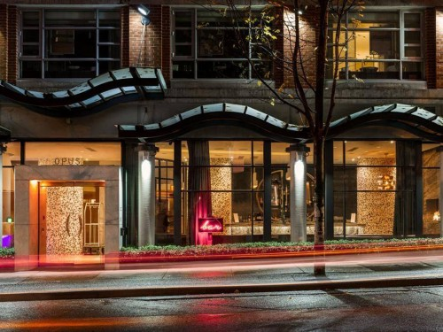 Opus Hotel Vancouver receives Forbes Four-Star rating