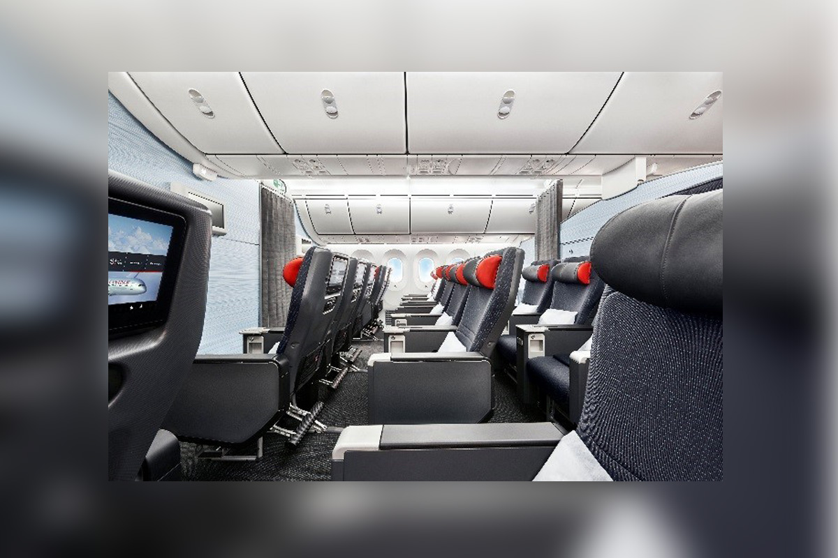 Premium Air Canada seat options now available for agents through Amadeus technology