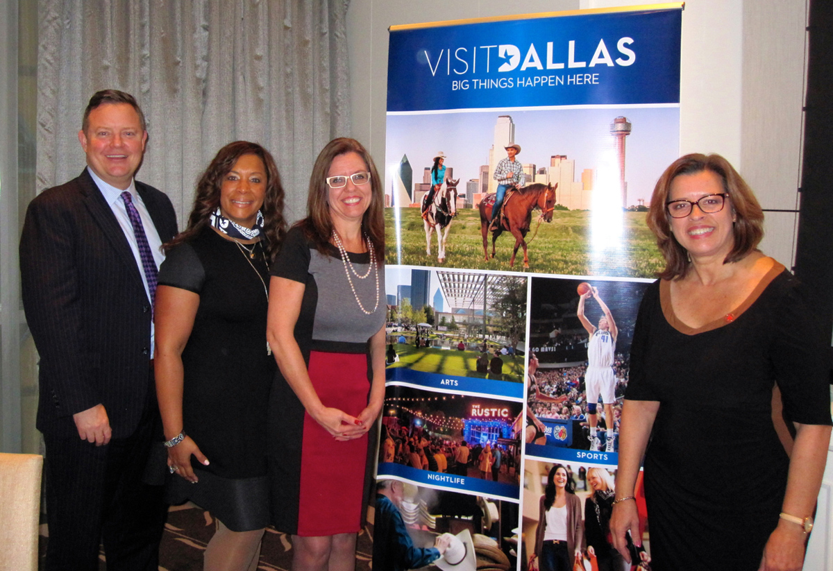 Visit Dallas celebrates new Air Canada YVR–DFW route