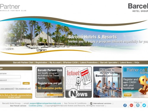 Barcelo Partner Club launches Canadian agent site