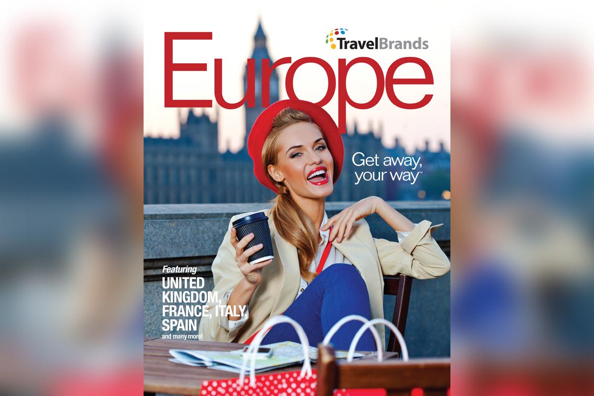 TravelBrands introduces new European brochure