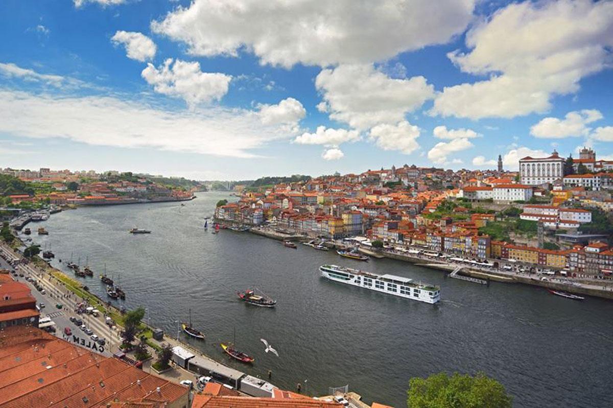 Scenic opens dock on Portugal's Douro River