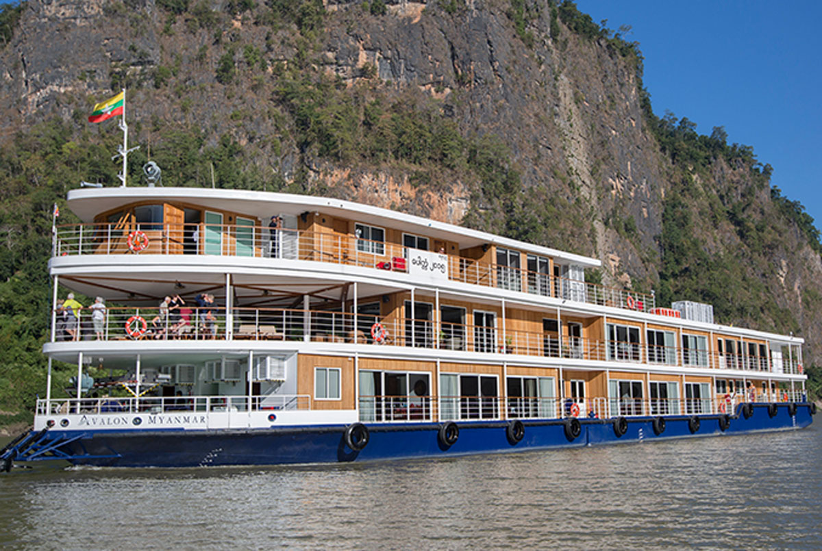 Avalon Waterways' Myanmar cruise recognized by National Geographic
