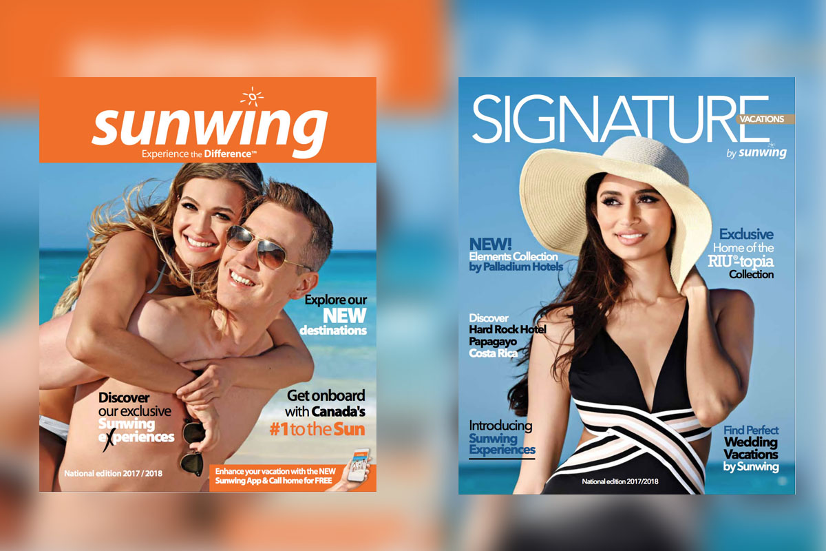 Sunwing & Signature release latest brochures