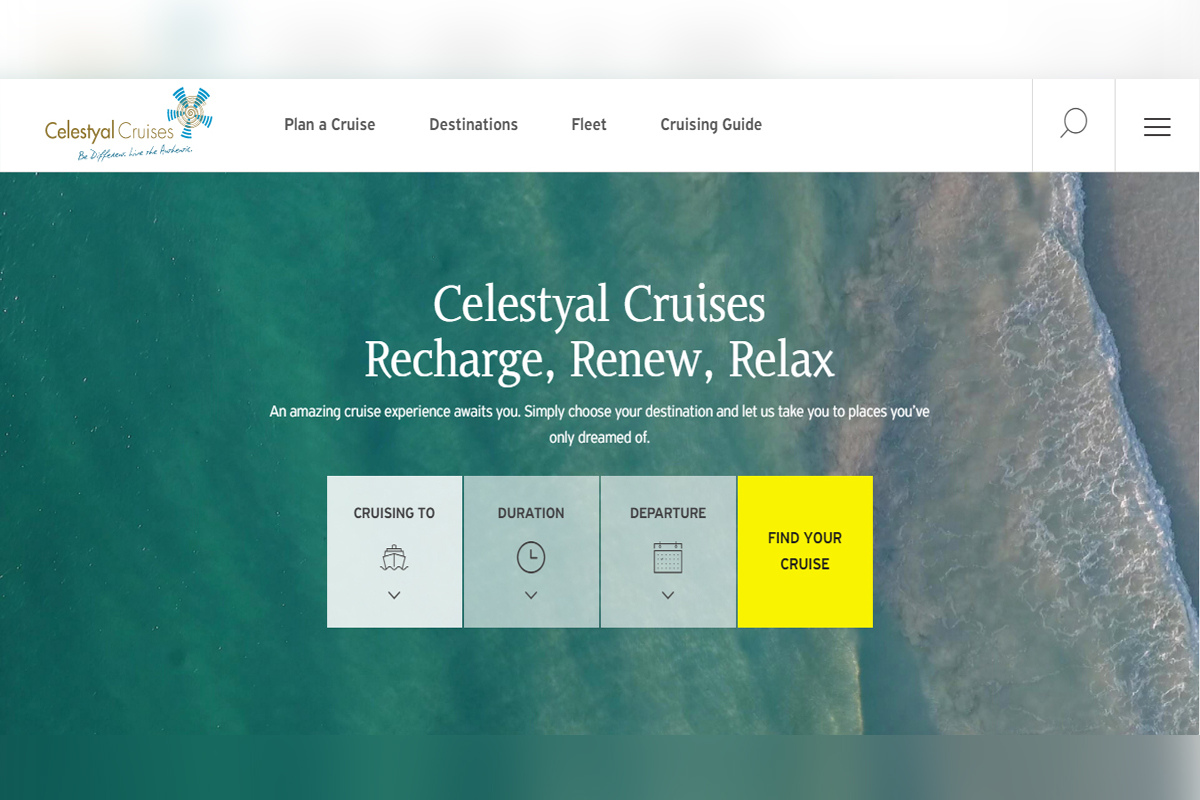 Celestyal Cruises launches new website
