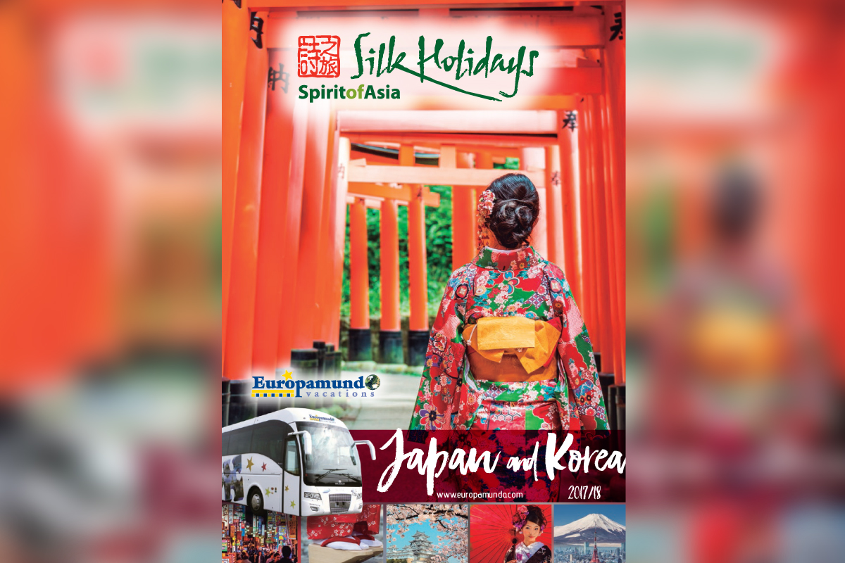 Silk Holidays & Europamundo's new Japan & Korea brochure now available
