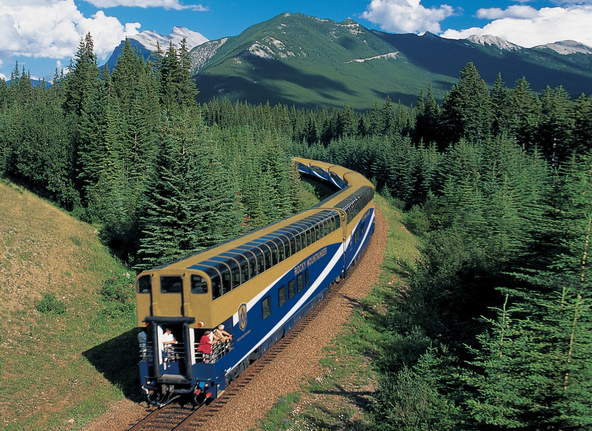 Early booking offer available from Rocky Mountaineer