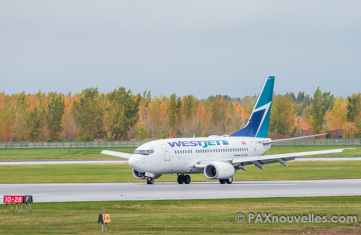 WestJet posts May load factor results